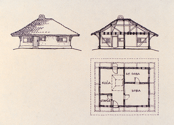 dwelling drawing